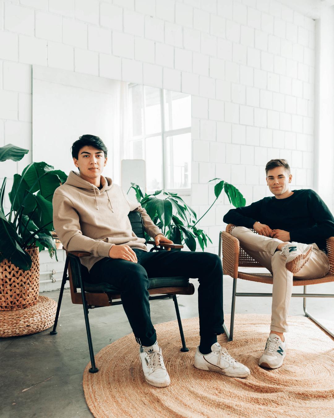 Finn Bußberg and Kai Funada Classen
